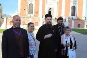 4 сентября 2017 года православные Алютики с Аляски посетили Рязанский кремль и духовную семинарию.